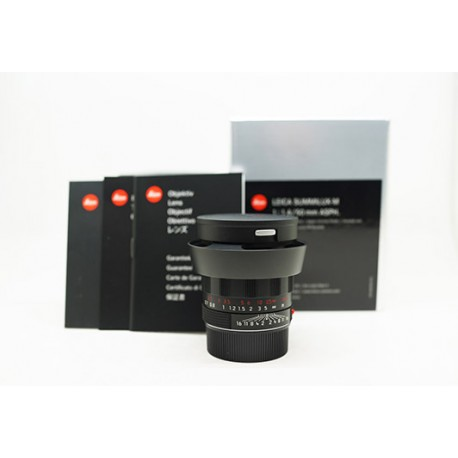 Leica Summilux-M 50mm/f1.4 ASPH Black Chrome (11688)