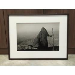 楊延康 - 心像之站立山頂的僧人