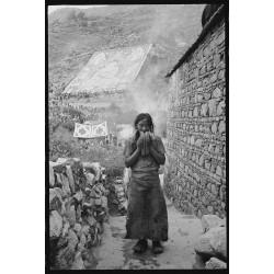 楊延康 (Yang Yankang)作品 - 展佛中的信眾