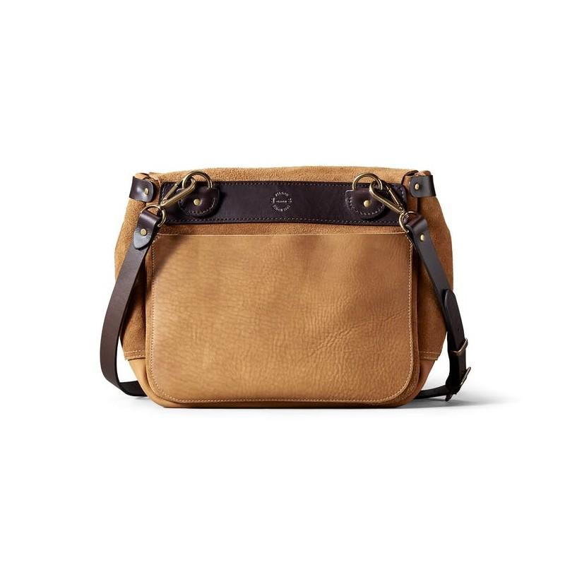 02944 Rugged Suede Messenger Bag