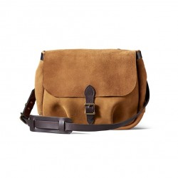 02944 Rugged suede messenger bag