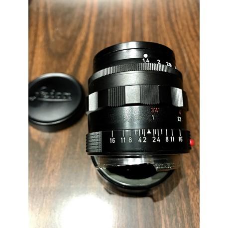 Summilux 50mm/f1.4 Black