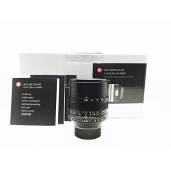 Leica Noctilux-M 50mm/f0.95 ASPH Black Anodized Finish (11602)