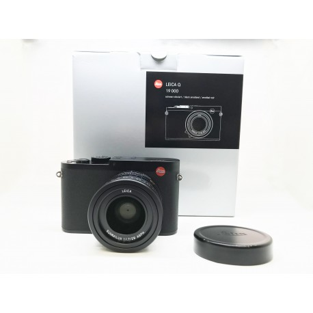 Leica Q Camera Black Anodized 19000