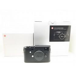 Leica M Monochrom Tye 246 Digital Camera Black Chrome Finish (10930)