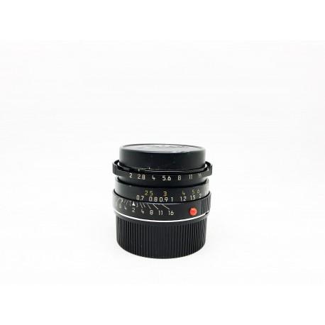 Leica Summicron 35mm F/2 6 Element Black