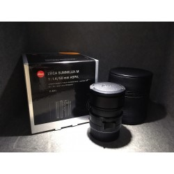 Leica Summilux-M 50mm F/1.4 Asph Black Anodized Finish 11891
