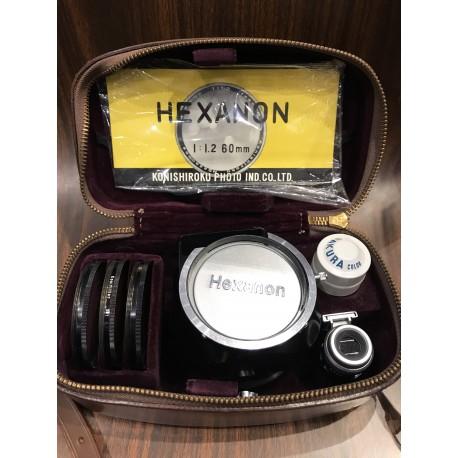Konica Hexanon 60mm f/1.2 v.1 LTM
