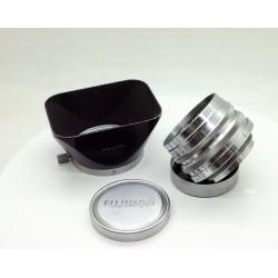 Fujinon 35mm/f2 LTM + original hood
