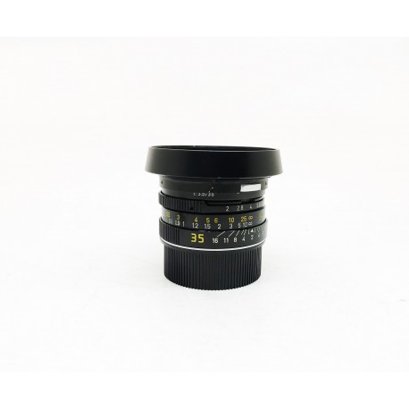 Leica Summicron 35mm F/2 7 element black