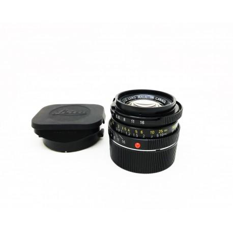 Leica Summicron 35mm F/2 7 element Black