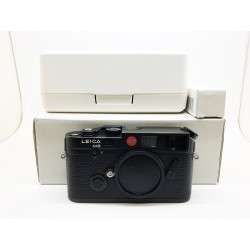 Leica M6 Classic Film Camera Black