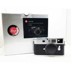 Leica M8.2 digital rangefinder Camera Silver chrome finish (10702)