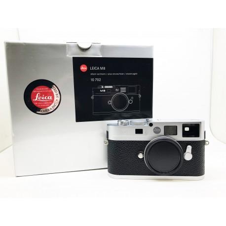 Leica M8 Silver chrome finish (10702)