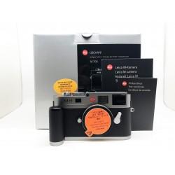 Leica M9 Digital Rangefinder Camera (Steel Grey Paint)