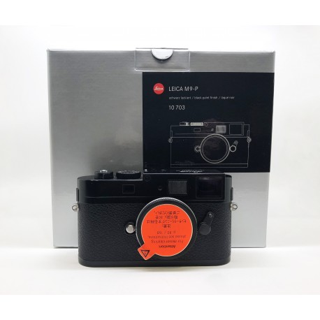 Leica M9-P Black Paint Finish 10703