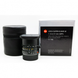 Leica Super-Elmar-M 21mm f/3.4 asph(11145) Brand New