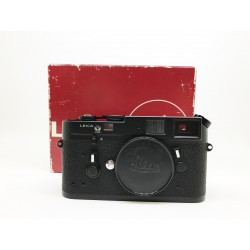 Leica M4 Film Camera ( 50 Years anniversary) Black Chrome GERMANY