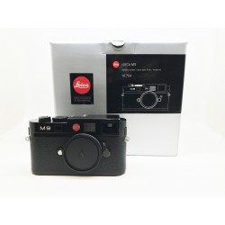 Leica M9 Digital Camera Black Paint