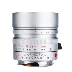 Leica Summilux-M 50mm /f1.4 ASPH (11892) SILVER Brand New