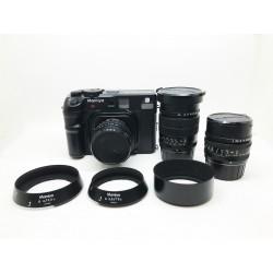 Mamiya 6 medium film camera set (with 50mm f/4 + 75mm f/3.5 + 150mm f/4.5)