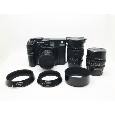 Mamiya 6 Film Camera With Mamiya 150mm f/4.5 Lens & Mamiya 50mm f/4 Lens &Mamiya 75mm f/3.5 Lens