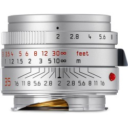 Leica Summicron-M 35mm f/2 ASPH Lens (Silver) Brand new