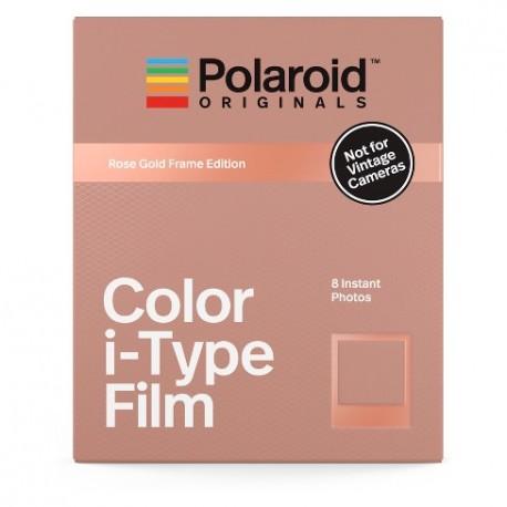 Polaroid Originals Color i-Type Film (Rose Gold Frame Edition)