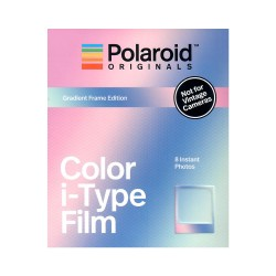 Polaroid Originals Color i-Type Film ( Gradient Frame Edition)