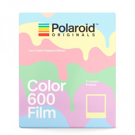 Polaroid Originals Color 600 Film(Ice-Cream Pastels Edition)