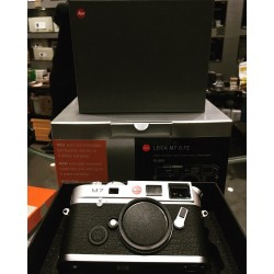 Leica M7 0.72 film camera Sliver (Brand New)