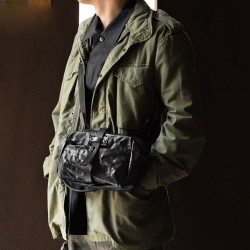Mini Rider Sling Bag(Full Leather)
