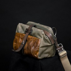 Mini Rider Slang Bag (Ash Green)