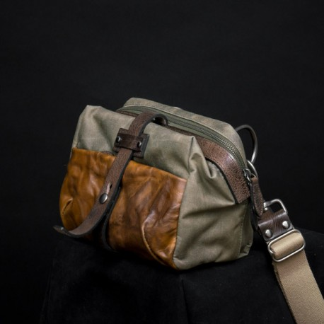 Mini Rider Slang Bag (Ash Green)