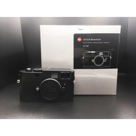 Leica M Monochrom Digital Camera (Black) 10760 CCD