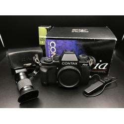 Contax Aria Film Camera With Contax Viewfinder