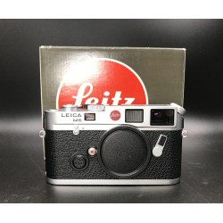 Leica M6 Silver Film Camera (early version with leitz logo)