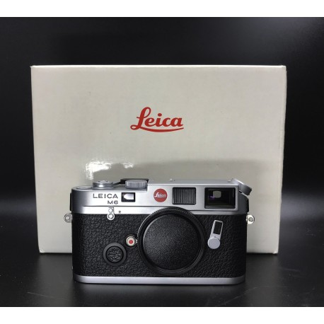 Leica M6 Silver Film Camera Full Packing