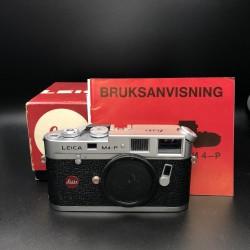 Leica M4-P (1913-1983) Film Camera SILVER