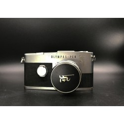Olympus-Pen F Film Camera With38mm F/1.8 Lens