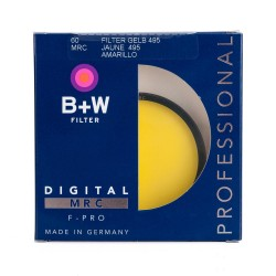 B+W 60mm Yellow (022) MRC Filter