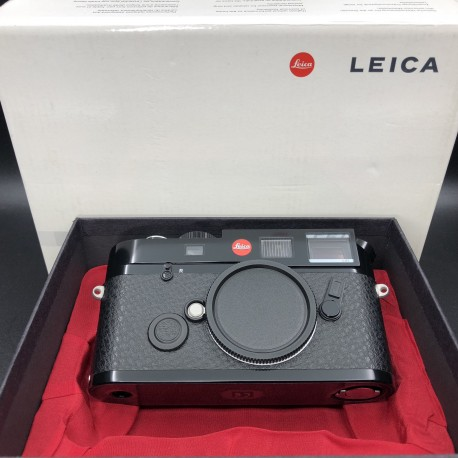 Leica M6 Rangefinder Film Camera TTL 0.85 Black Paint Finish Brand New