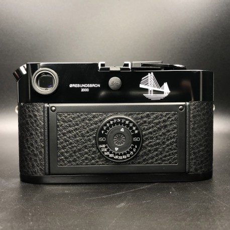 Leica M6 TTL 0.85 film camera Black paint (Øresundsbron limited edition)