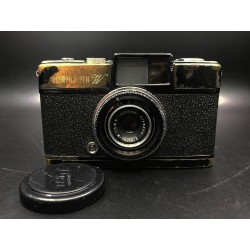 Olympus-Pen W Film Camera (black paint)