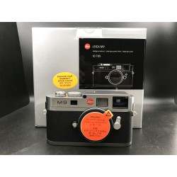 Leica M9 Digital Camera Steel Grey Paint Finish 10705 (used)