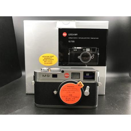 Leica M9 Digital Camera Steel Grey Paint Finish 10705