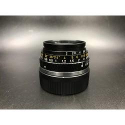 Leica Summicron 35mm F/2 8 Elements blk
