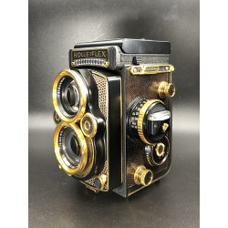 Rolleiflex 2.8F AURUM TLR with 80mm f/2.8 Zeiss Planar Lens