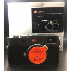 Leica M-E Digital Camera Anthracite Grey Paint Finish 10759 (used)