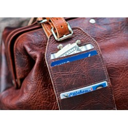 hold fast Luggage Tag Wallet